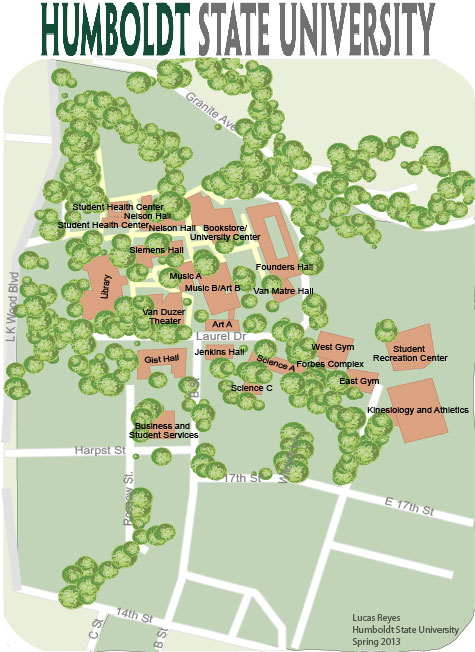 Campus Map - theLuke makes maps